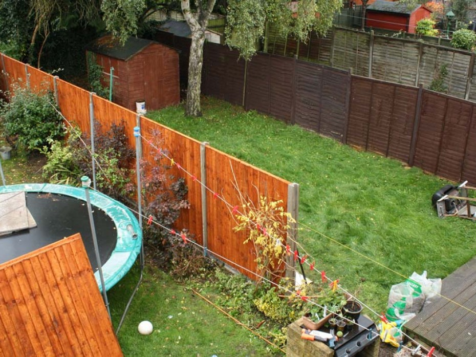 New Fence rebuilt by Sage Gardens and Landscapes London