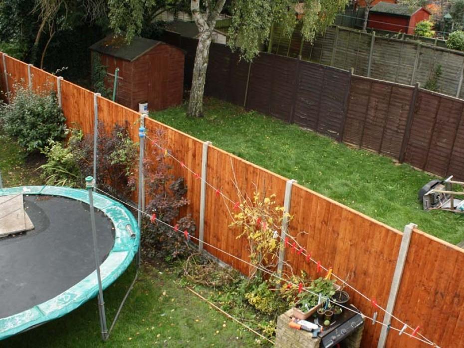 Fence rebuild by Sage Gardens and Landscapes London