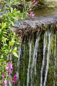 landscape gardener- water feature