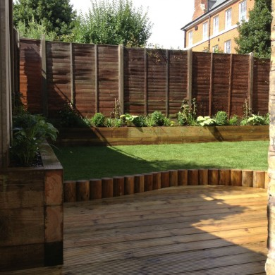 Garden design in Tulse Hill South London