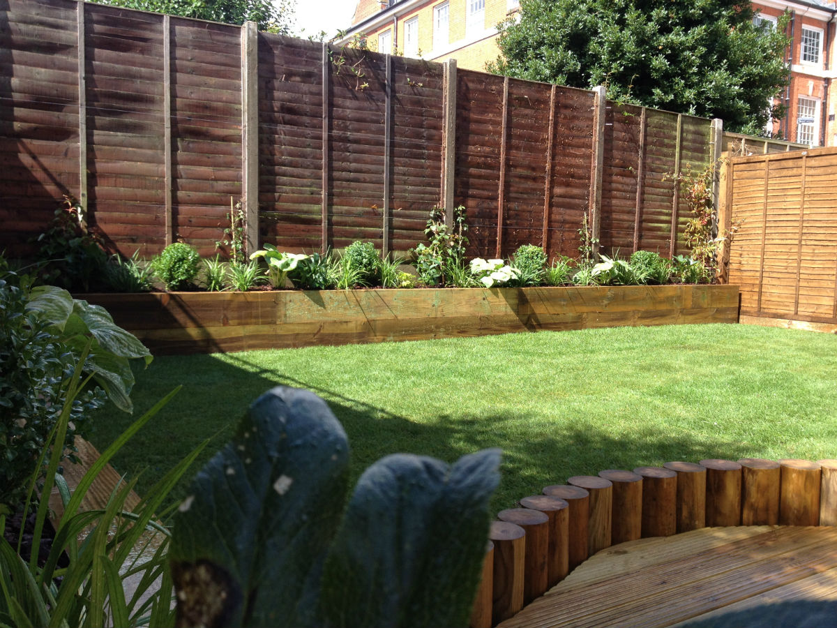 Tulse hill gardener portfolio of landscape garden design for Low maintenance garden design