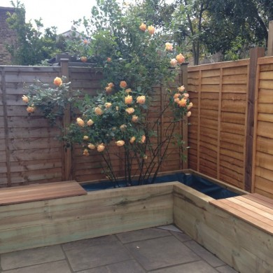 Forest Hill garden project