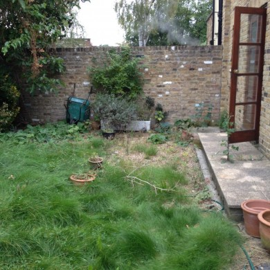 Blackheath gardener- before shot
