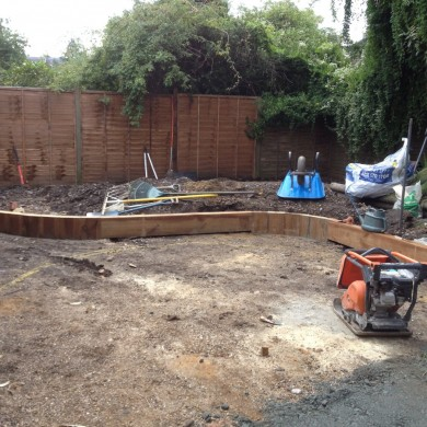 Blackheath Garden design- in progress