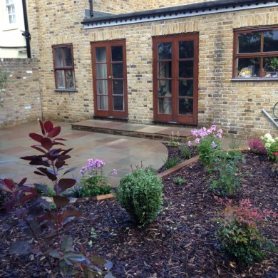 Garden landscaping Blackheath