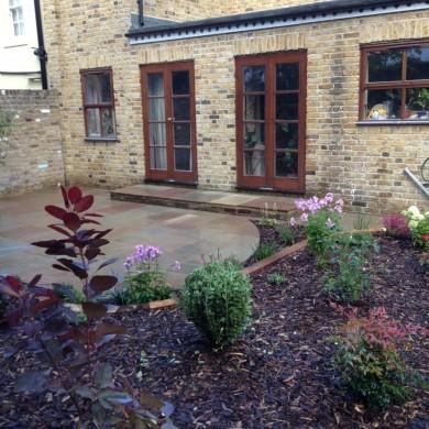 Garden landscaping Blackheath